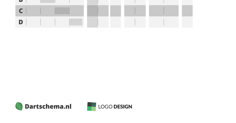 Adverteren op schema's van Dartschema.nl
